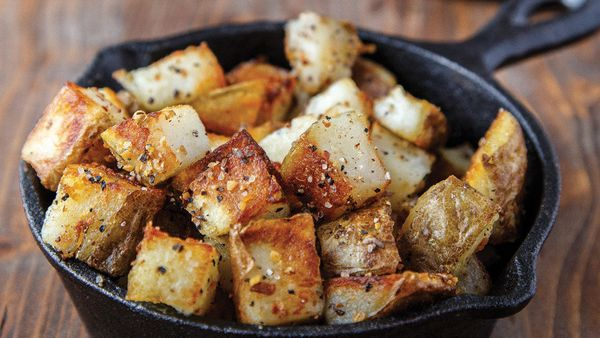 This two-step method for perfectly cooked bite-size potato cubes is a revelation. It's from Christina Lane's new book, <i><a