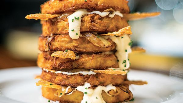 News flash: Latkes aren't just for Hanukkah. And if you've never made potato pancakes, this is an excellent (if untraditional