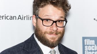 NEW YORK, NY - OCTOBER 03:  Actor Seth Rogen attends the 53rd New York Film Festival - 'Steve Jobs' at Alice Tully Hall, Lincoln Center on October 3, 2015 in New York City.  (Photo by Gilbert Carrasquillo/FilmMagic)
