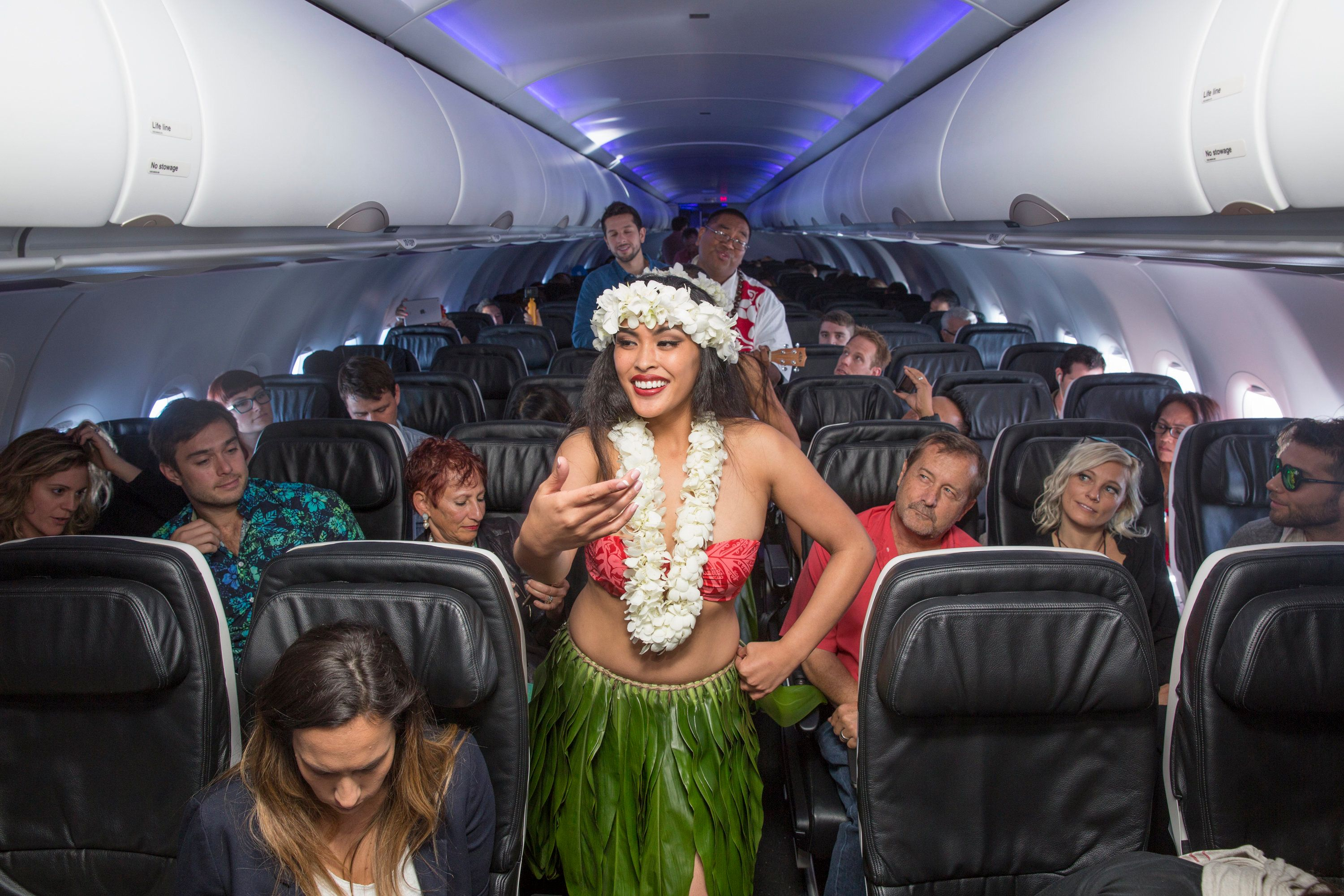 SAN FRANCISCO, CA - NOVEMBER 02:  Atmosphere during Virgin America and Airbnb Hawaii Launch Party on November 2, 2015 in San Francisco, California.  (Photo by Alison Buck/Getty Images)