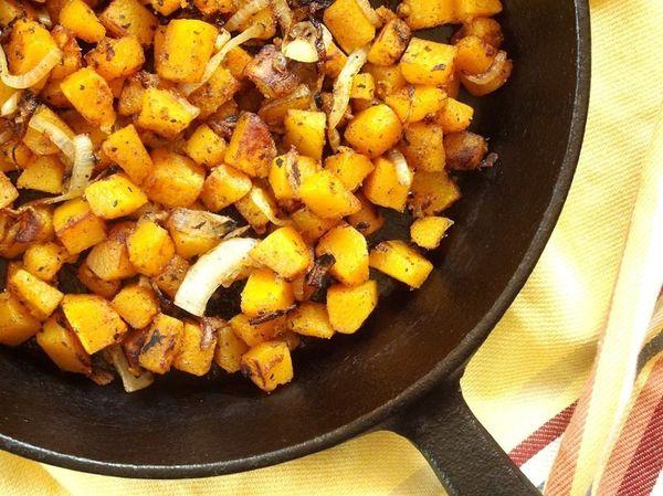 """<strong>Get the <a href=""""http://www.connoisseurusveg.com/2014/09/butternut-squash-home-fries.html"""">Butternut Squash Home Frie"""
