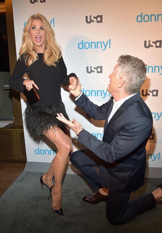 Ageless Christie Brinkley Stuns In A Thigh-Skimming Mini Dress ...