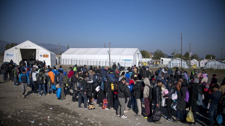 Greece has already spent 1.5 billion euros on reception centers and staff to handle the migrants, and needs 100 million euros