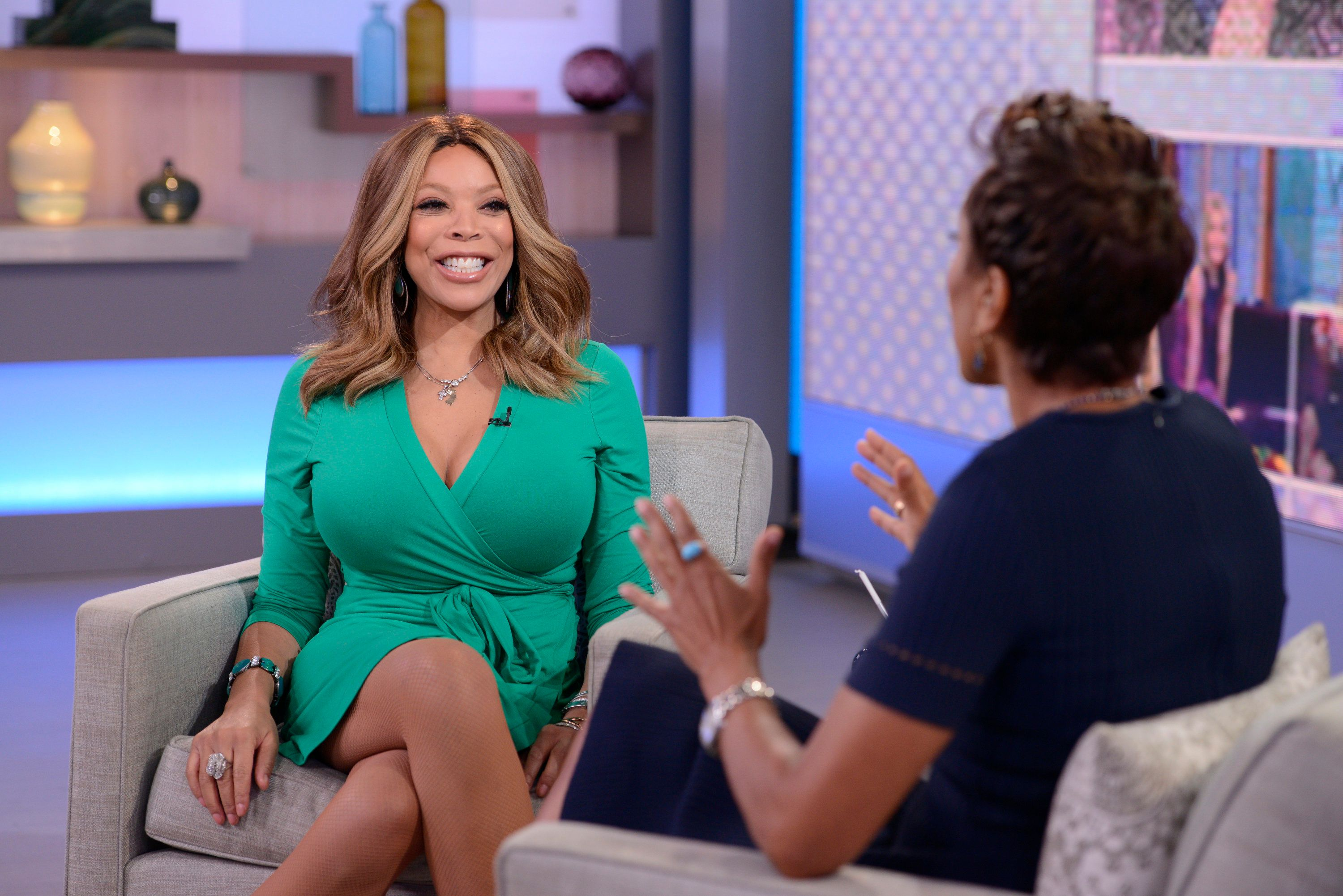 GOOD MORNING AMERICA - Wendy Williams is a guest on 'Good Morning America,' 9/18/15, airing on the ABC Television Network. (Photo by Lorenzo Bevilaqua/ABC via Getty Images)