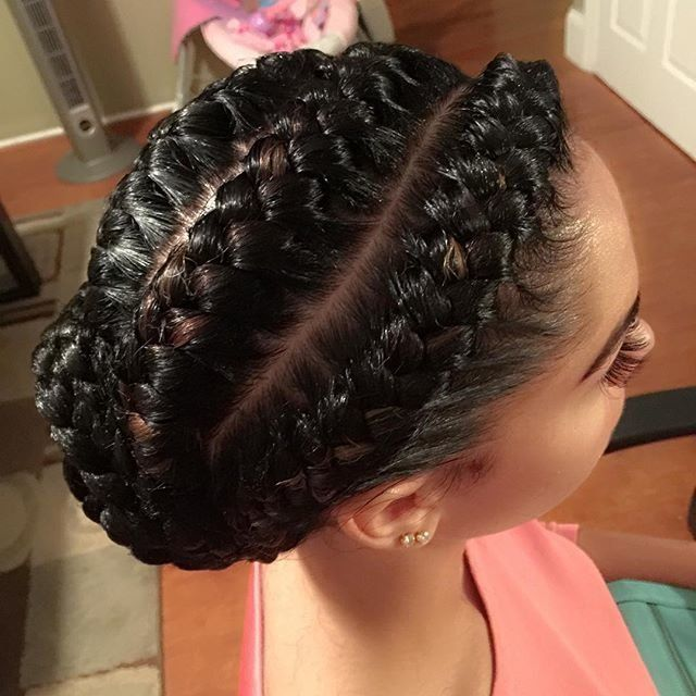 10 Goddess Braid Hairstyles To Show Your Stylist For