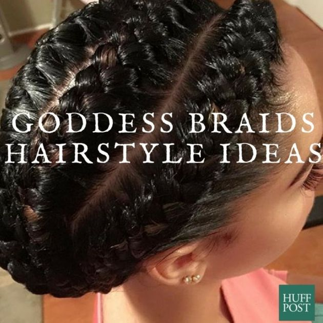 Peachy 10 Goddess Braid Hairstyles To Show Your Stylist For Inspiration Hairstyles For Women Draintrainus
