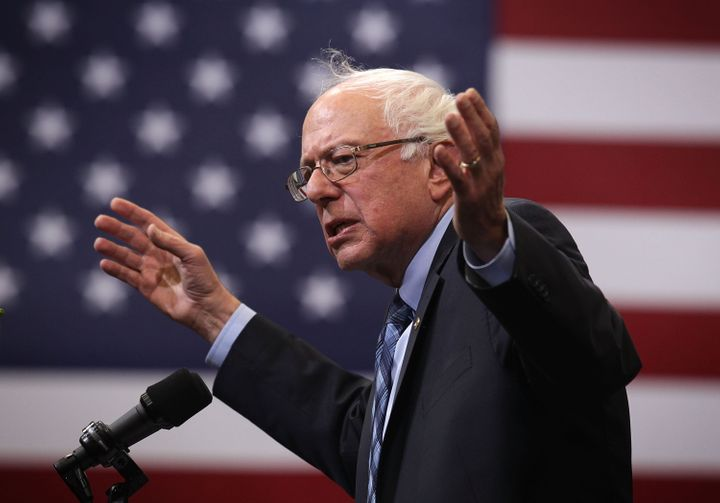 Bernie Sanders wants marijuana to be regulated like alcohol.