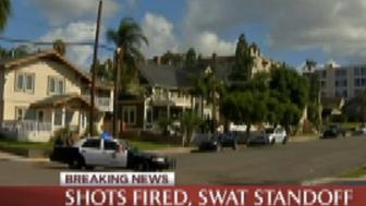 Police in San Diego were investigating reports of a shooter who'd opened fire from an apartment building.