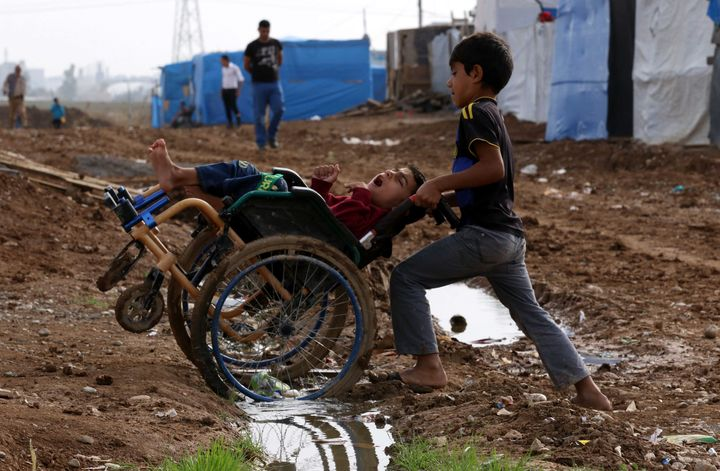 Millions of people who fled the Islamic State are living in refugee camps in Iraq and neighboring countries.