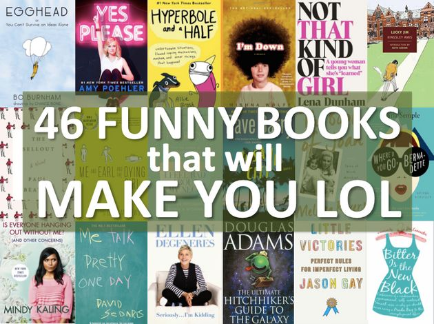 46 Hilarious Books Guaranteed To Make You Laugh Out