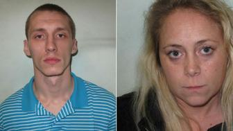 Karl Jensen, 27 and his girlfriend, Lisa Mary Hutchinson, 26, have been convicted for smuggling drugs, a knife and a McMuffin sandwich into Wormwood Scrubs prison.