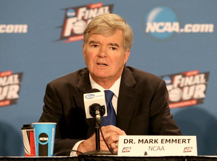 NCAA President Mark Emmert.