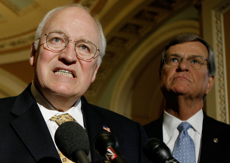 Cheney, edwards go to war over iraq