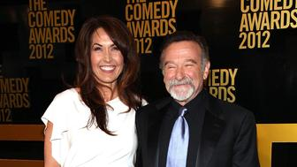 NEW YORK, NY - APRIL 28:  (L-R) Susan Schneider and Robin Williams attend The Comedy Awards 2012 at Hammerstein Ballroom on April 28, 2012 in New York City.  (Photo by Paul Zimmerman/WireImage)