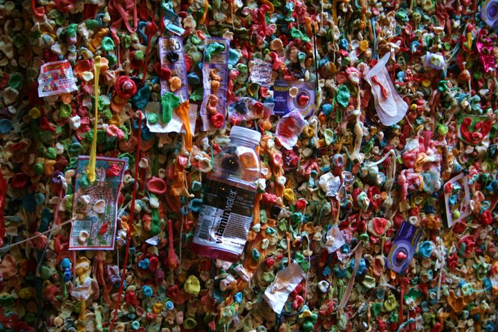After the wall is cleaned, visitors will once again be able to stick their gum there.
