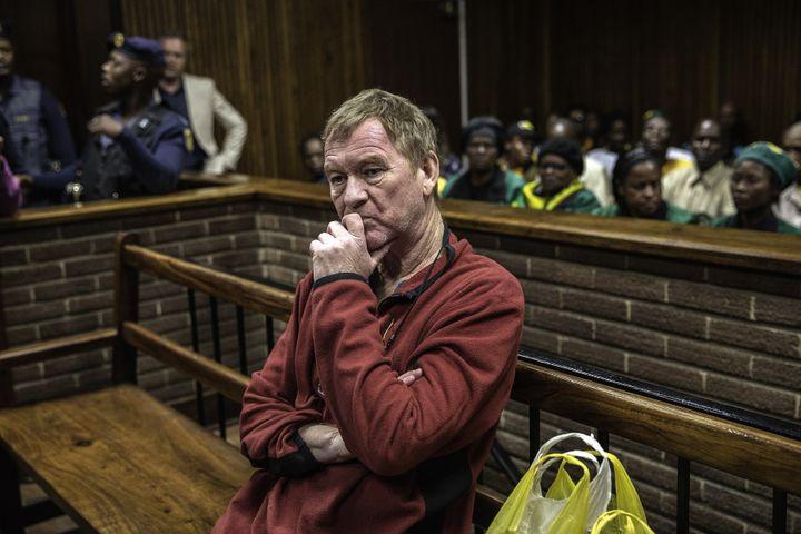 Peter Frederiksen in Bloemfontein Magistrate's court on Wednesday.
