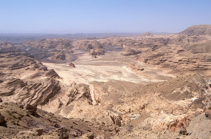 The remote Sinai peninsula was demilitarized as part of the Israel-Egypt peace deal in 1979.