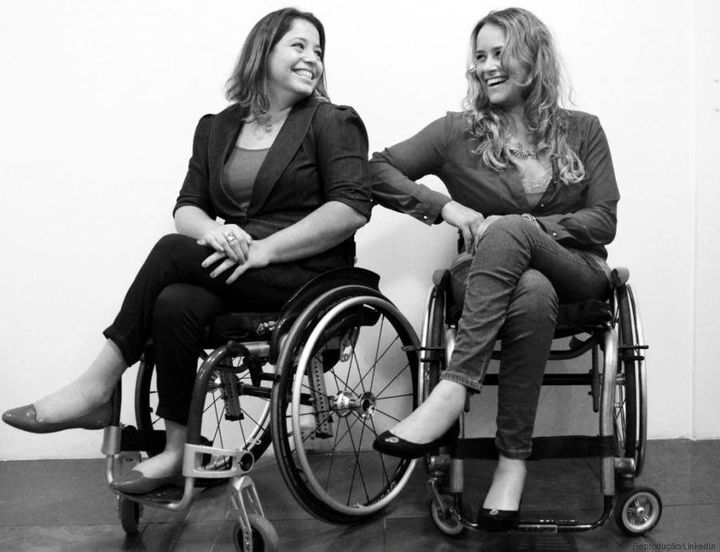 Carolina Ignarra's consulting firm works on the inclusion of people with disabilities in the job market.