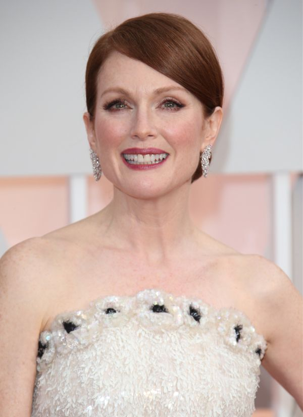 Why can't Bond be a badass and redhead? Julianne Moore is the talented answer.