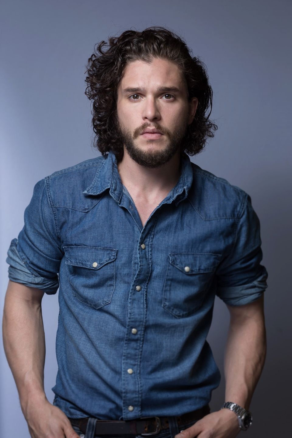 "From heartthrob and talented Jon Snow on ""Game of Thrones,"" Harington has literally battled his way through scenes and stood"