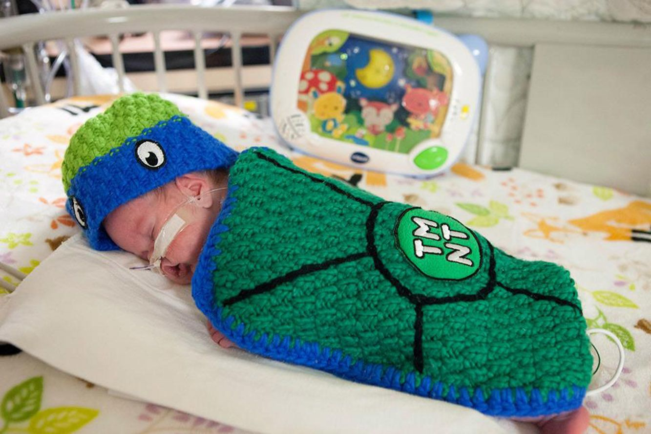 Erik Unger/Loyola Medicine & These Awesome NICU Nurses Made Halloween Costumes For Their Preemie ...