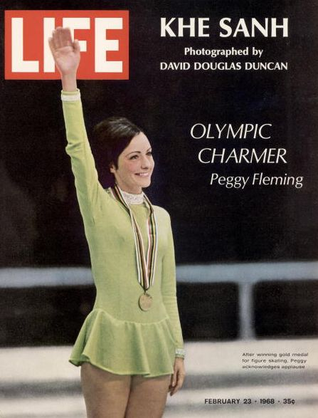 Fleming was a three-time World Champ and took the gold in the 1968 Olympics in Grenoble, France -- the only gold the U.S. won