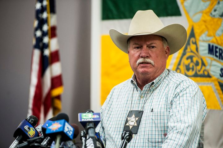 Merced County Sheriff Vern Warnke said Faisal Mohammad's plan went off the rails when people started to fight back.