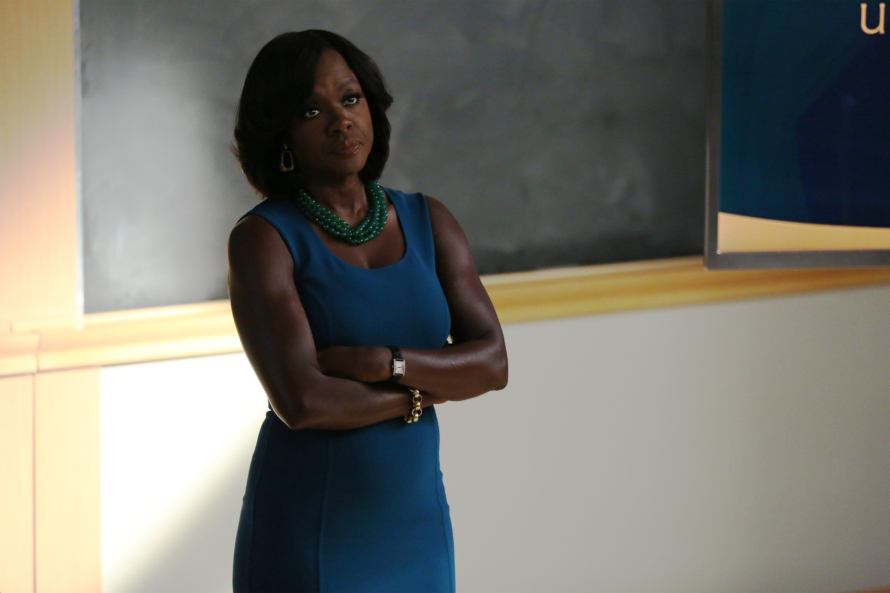 HOW TO GET AWAY WITH MURDER - 'I Want You to Die' - Annalise and the team are hired to represent a client accused of badgering somebody to the point of suicide. Meanwhile, Eve returns to defend Nate after ADA Sinclair serves him for a possible new murder charge, and Bonnie learns about what happened at Trotter Lake, on 'How to Get Away with Murder,' THURSDAY, NOVEMBER 5 (10:00-11:00 p.m., ET) on the ABC Television Network. (Photo by John Fleenor/ABC via Getty Images)