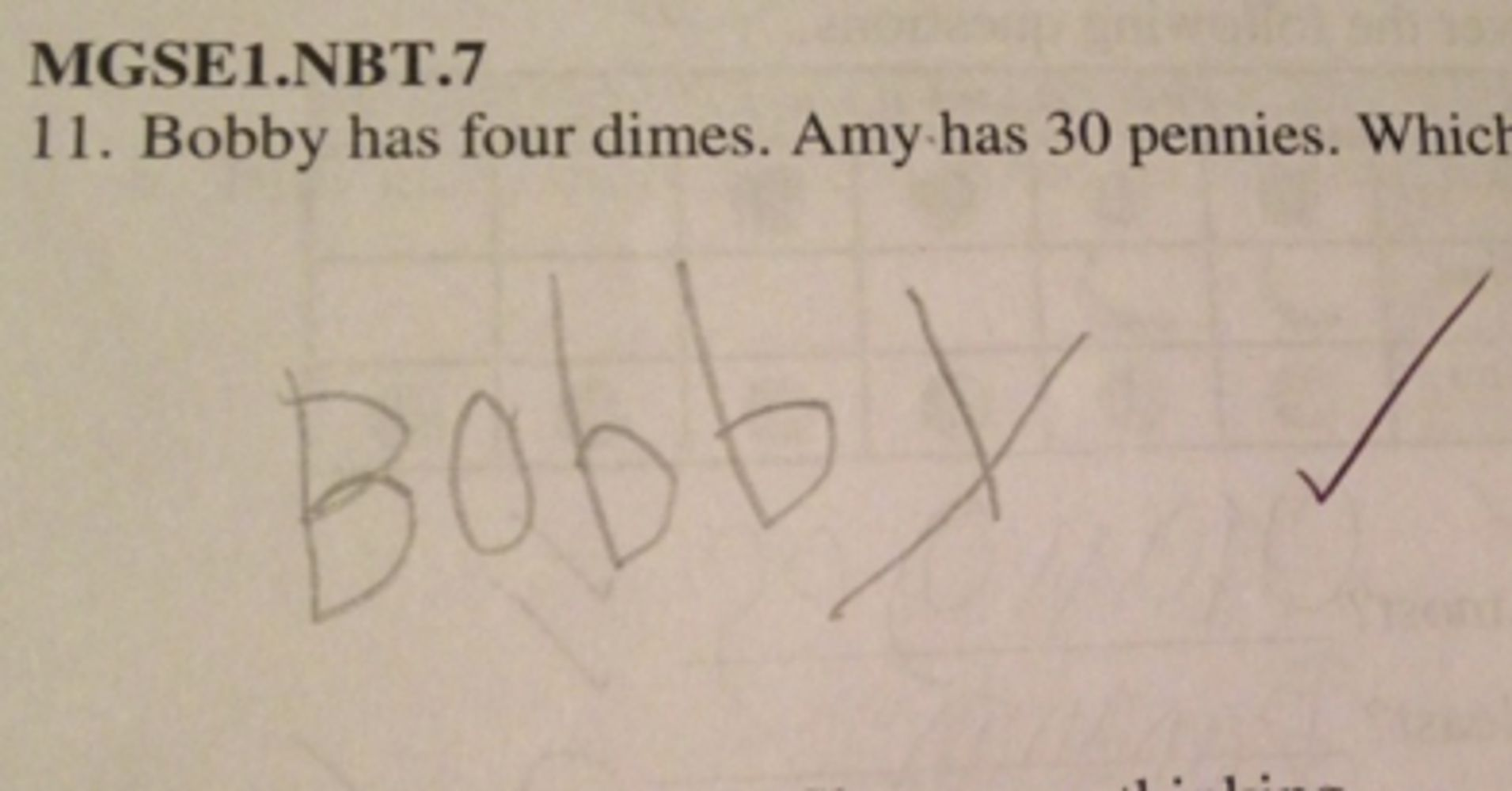 This Boy Has Outsmarted Us All With His Perfect Math Problem Answer