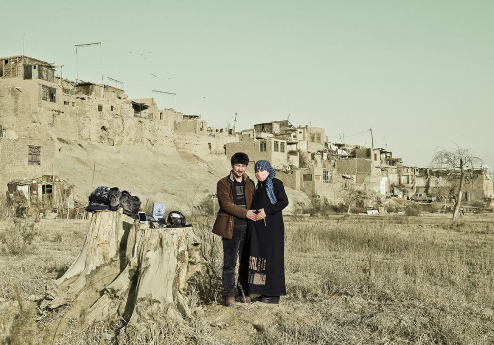 Mahmoodjan, 28, and his wife live in old Kashgar, Xinjiang Autonomuous Region. Online shopping is not common within their Uig