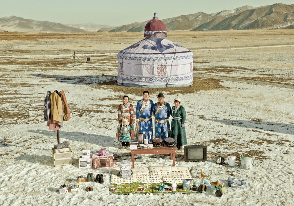 Liu Jun, 33, and his family live in the Horqin Right Front Banner, Inner Mongolia. He previously had to drive 140 kilometers