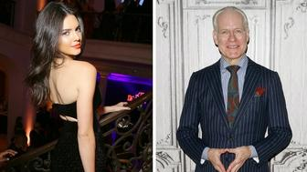 Kendall Jenner and Tim Gunn