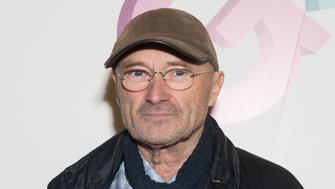 LONDON, ENGLAND - OCTOBER 02:  Phil Collins attends the Premiere of 'Sum Of All Parts' at Cineworld Haymarket on October 2, 2014 in London, England.  (Photo by Samir Hussein/WireImage)