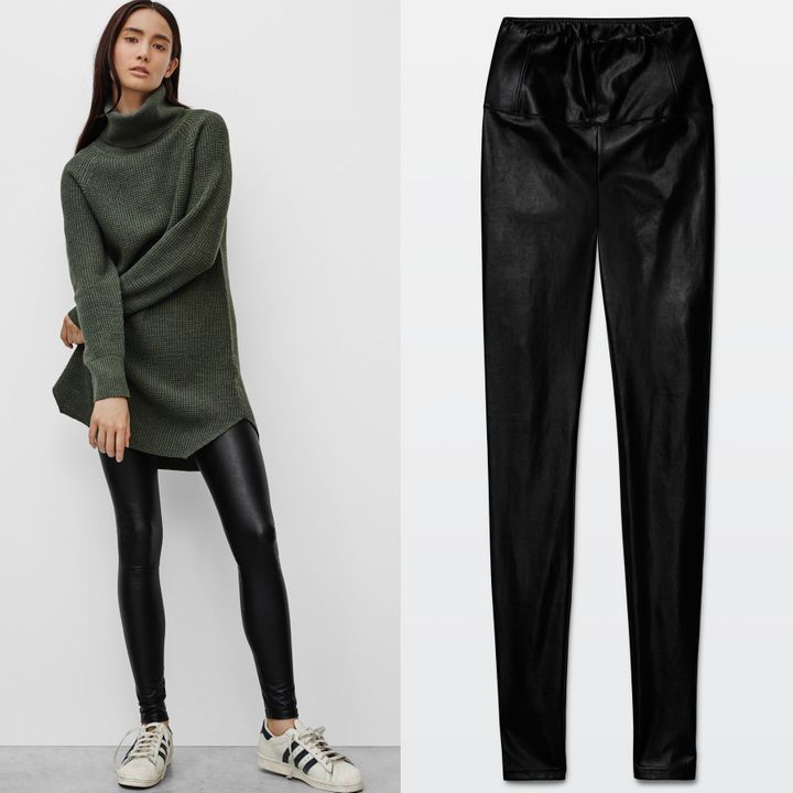 Where To Buy The Best Faux Leather Leggings (And How To Wear Them)