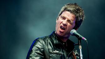 LONDON, ENGLAND - JULY 04:  Noel Gallagher of Noel Gallagher's High Flying Birds performs at Calling Festival at Clapham Common on July 4, 2015 in London, England.  (Photo by Nick Pickles/WireImage)