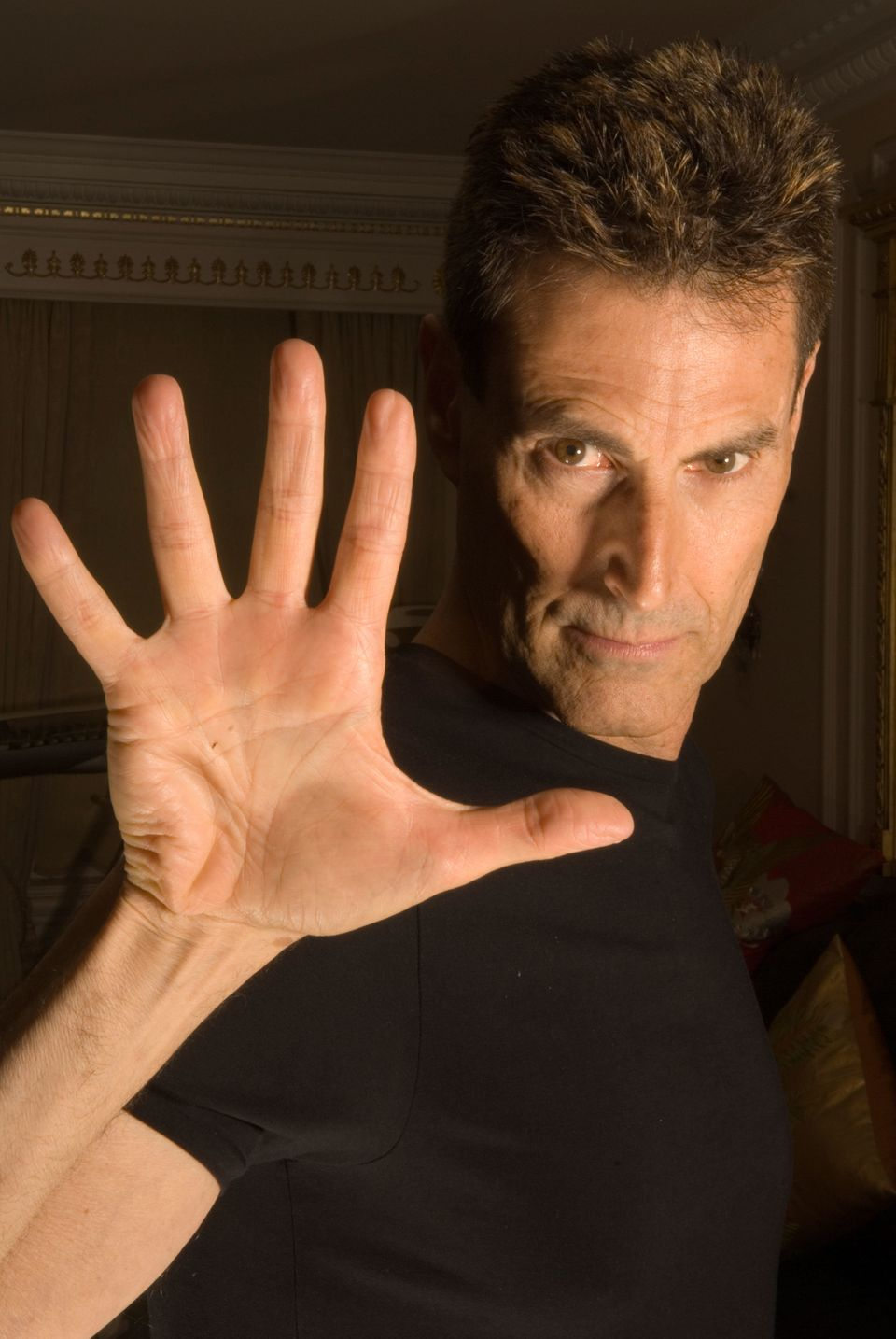 Uri Geller is known for being able to bend spoons, allegedly.