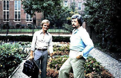 Drew Bosee and Nino Esposito in 1977.