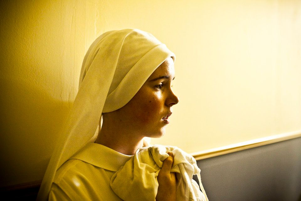 SUMMIT, NEW JERSEY - Oct.22, 2010: Sister Maria Teresa of the Sacred Heart became a cloistered nun in early 2008, dedic