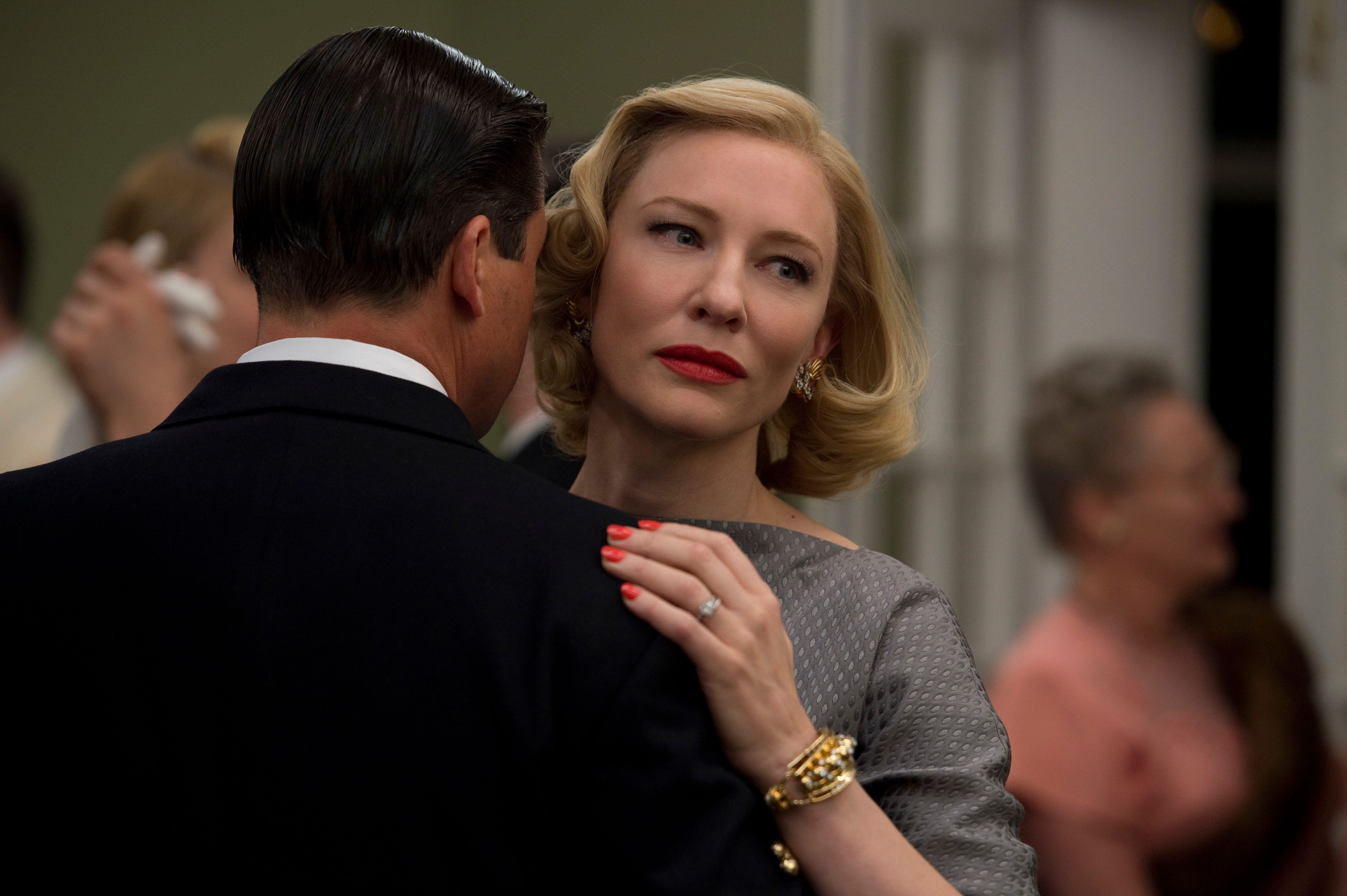 "Cate Blanchett stars as the eponymous ""Carol,"" a film from Todd Haynes with score by Carter Burwell."