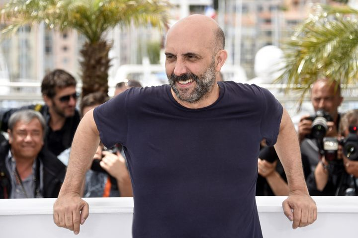 GasparNoé attends the Cannes Film Festival on May 21, 2015.