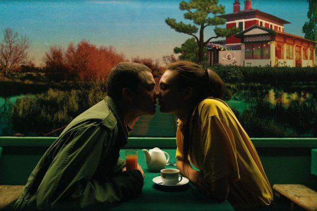 "KarlGlusman andAomi Muyock star in a scene from ""Love."""