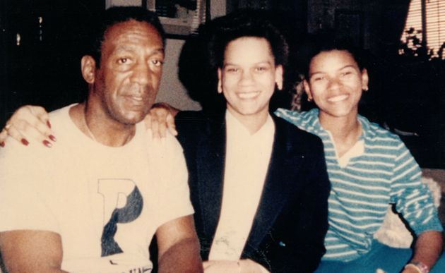 Lise-Lotte Lublin with Bill Cosby.
