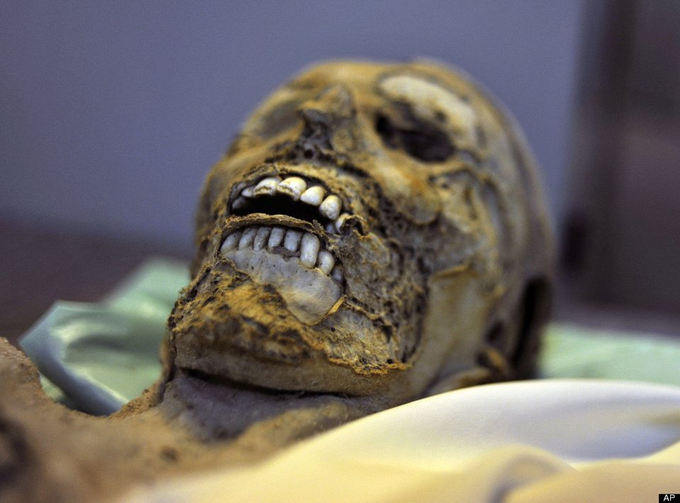 "A collection of 265 mummies, buried between 1731 and 1838 in Vac, Hungary, may be useful to scientists for <a href=""http://ww"