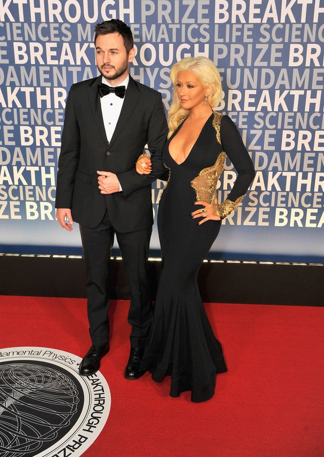 Кристина Агилера с супругом