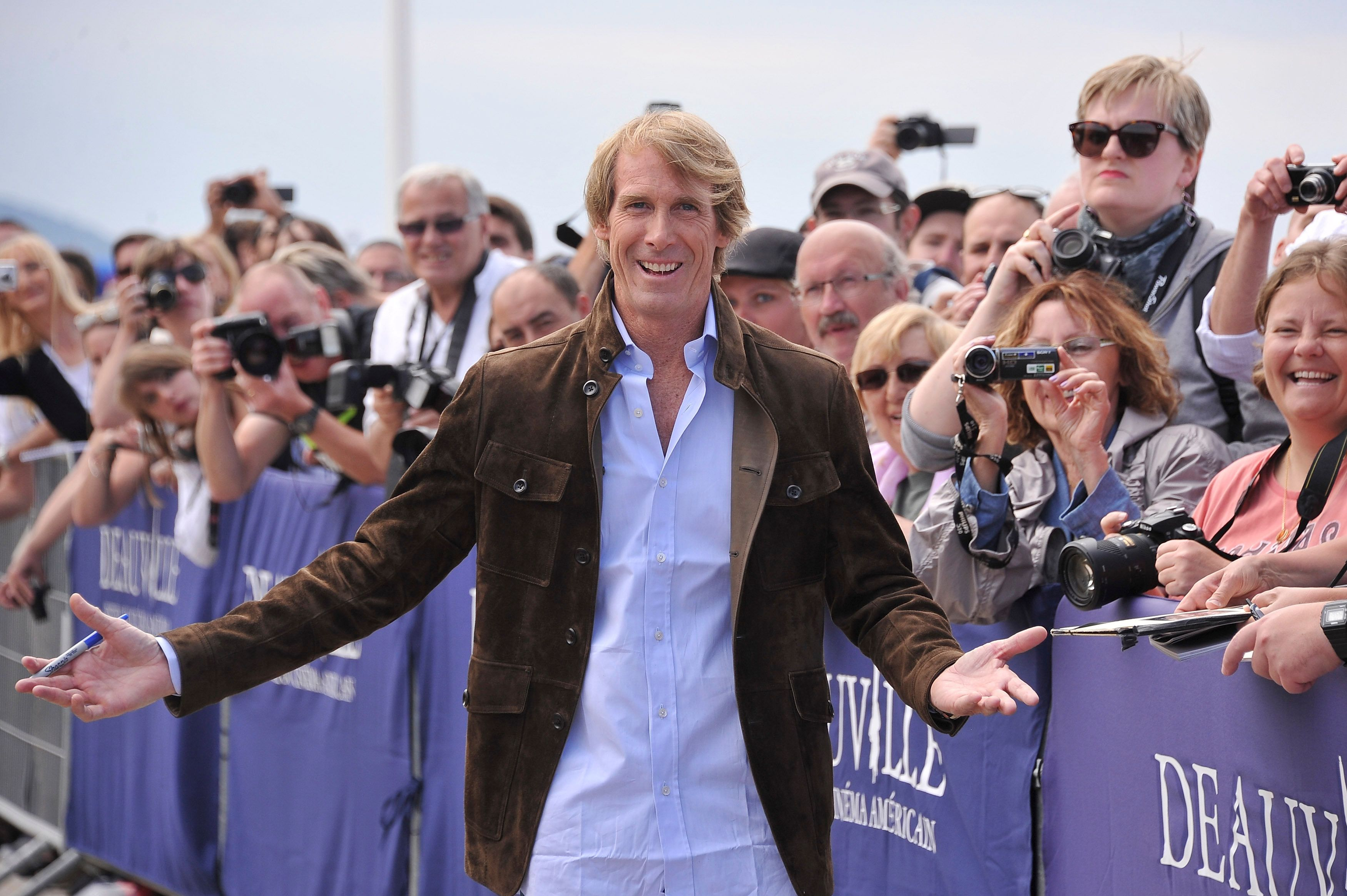Michael Bay attends the Deauville American Film Festival on Sept. 11, 2015, in France.