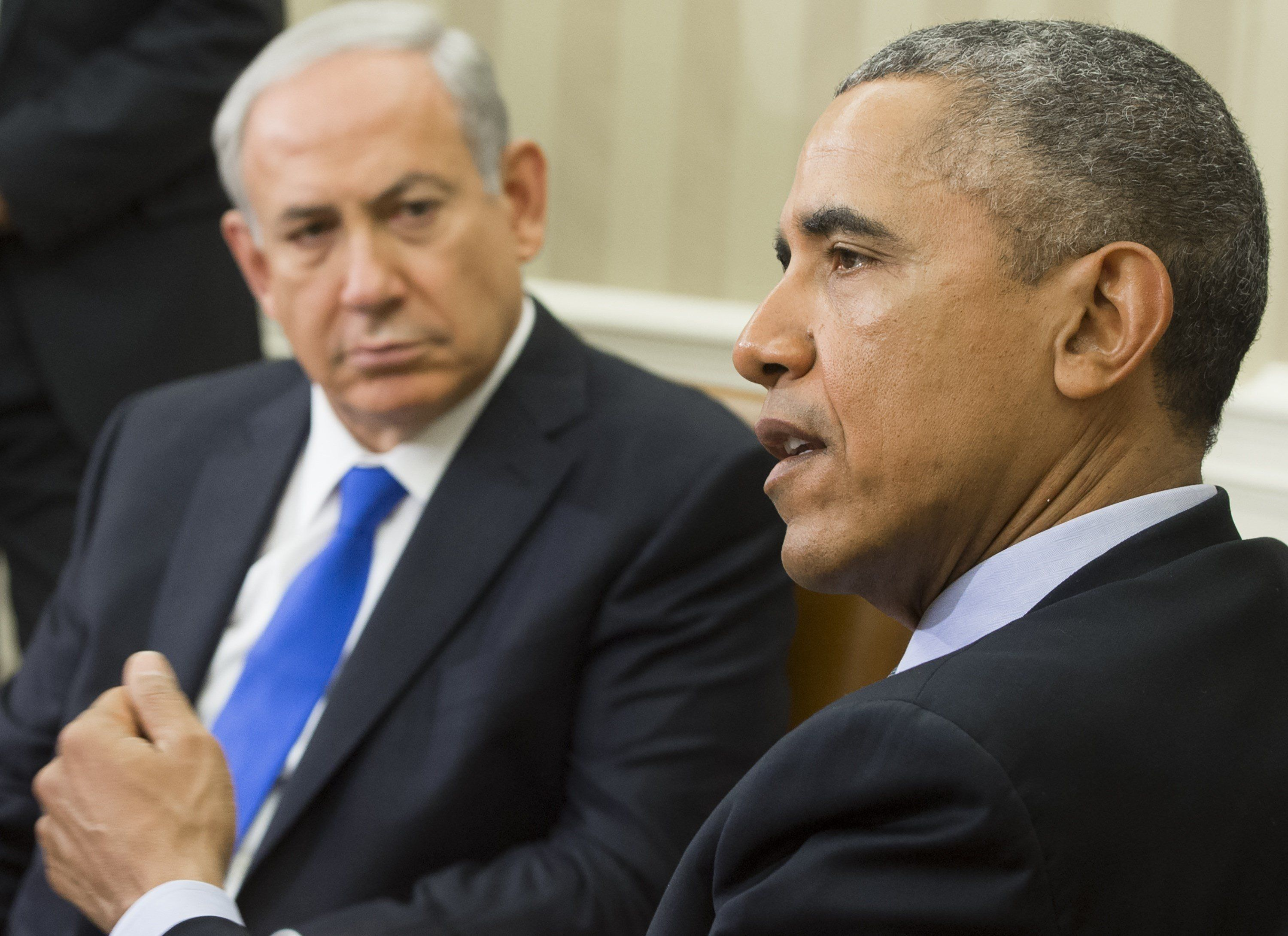 Obama and Netanyahu met at the White House on Monday.