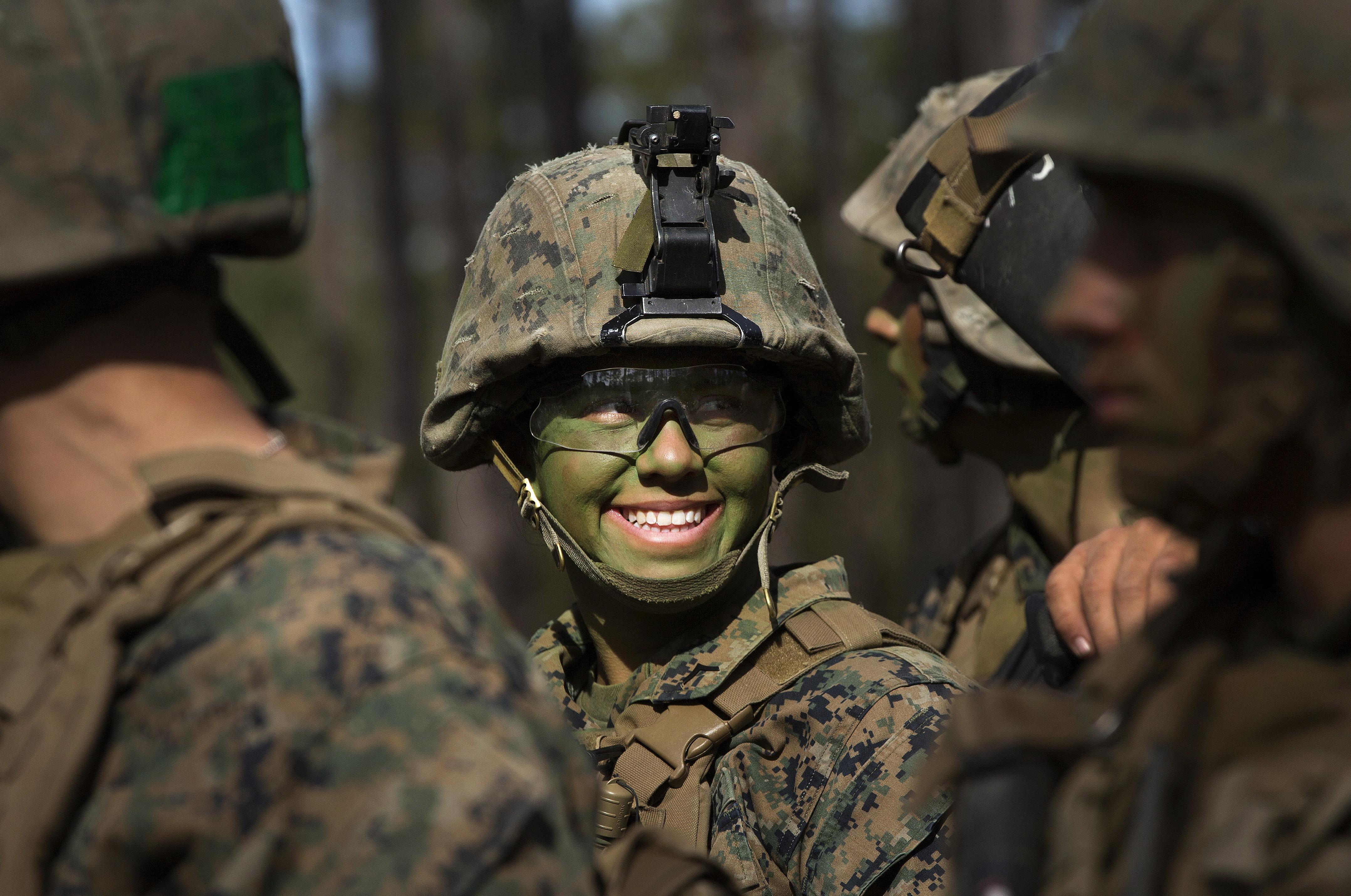 Latino army chicks