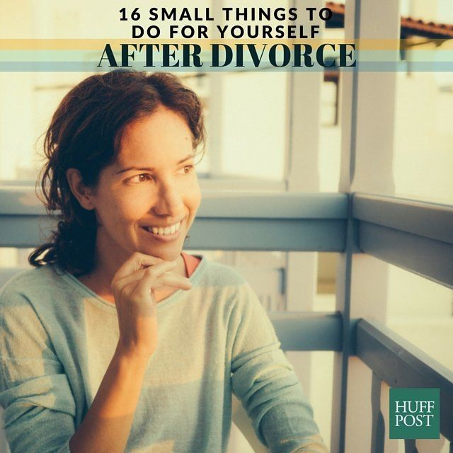 16 small but essential things to do for yourself after divorce getty solutioingenieria Image collections