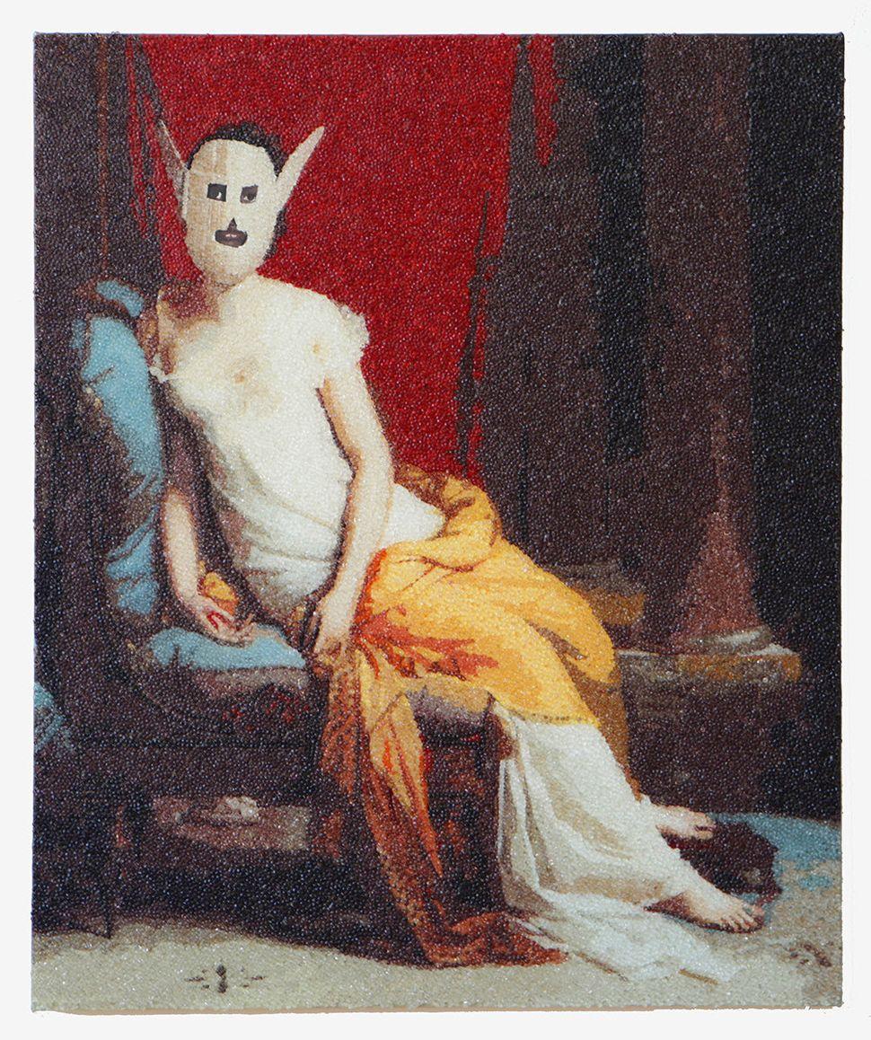 """Shonagh Adelman, """"Venus de Mardi Gras"""""""