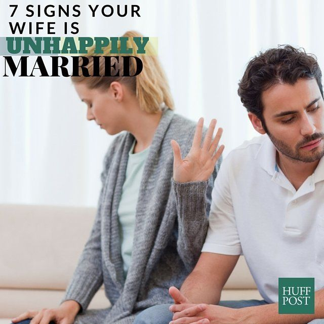 2409452f08 7 Signs Your Wife Is Unhappily Married